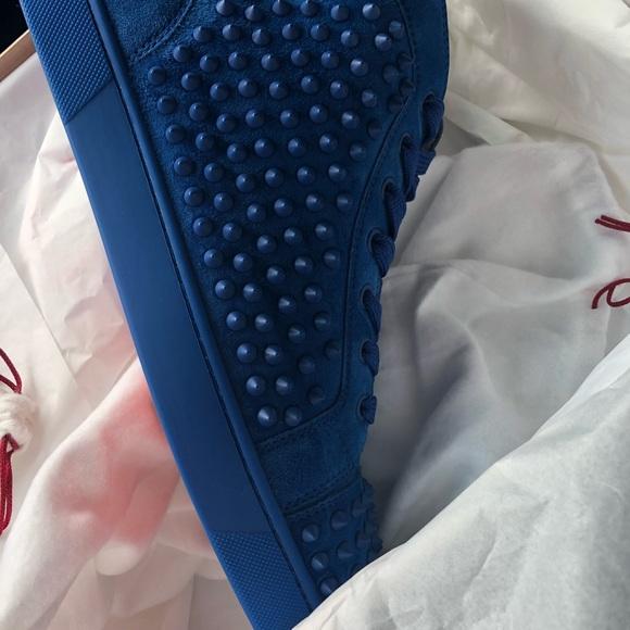 77473c53977 Christian louboutin men s sneakers 100% authentic